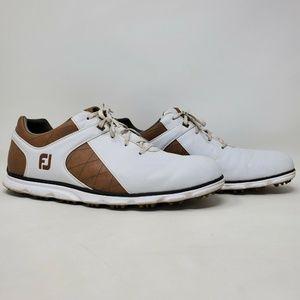 FootJoy PRO SL Golf Shoes Cleats Men Size 15 White